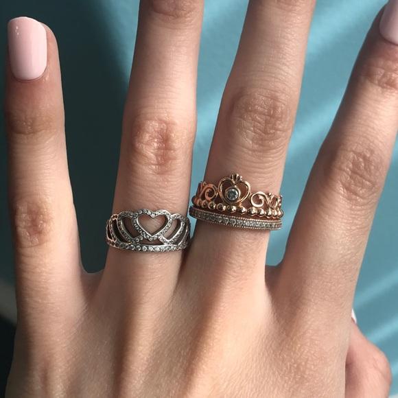 e844e94ce28 Hearts Tiara Ring, Clear CZ. M_5a5bb24a00450f4596925739